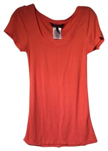 BCBG Max Azria Top Orange