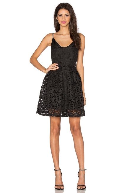 Preload https://img-static.tradesy.com/item/22704259/lucy-paris-black-laser-cut-m-d-and-g-dolce-gabbana-rosa-short-cocktail-dress-size-8-m-0-0-650-650.jpg