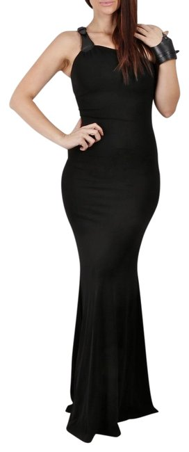 Preload https://img-static.tradesy.com/item/22704287/michael-kors-black-collection-one-shoulder-long-cocktail-dress-size-2-xs-0-1-650-650.jpg