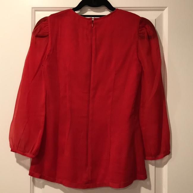 French Connection Top Red