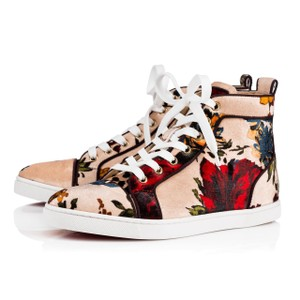 4cc7db3a5477 Christian Louboutin Bip Orlato Flat Sneaker Floral nude Athletic