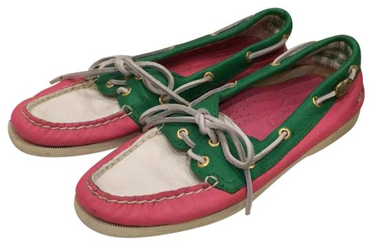 Preload https://img-static.tradesy.com/item/22704430/sperry-white-pink-green-9826306-flats-size-us-7-regular-m-b-0-1-540-540.jpg