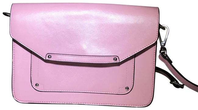 Linea Pelle Lp Blue By Pink Leather Cross Body Bag Linea Pelle Lp Blue By Pink Leather Cross Body Bag Image 1