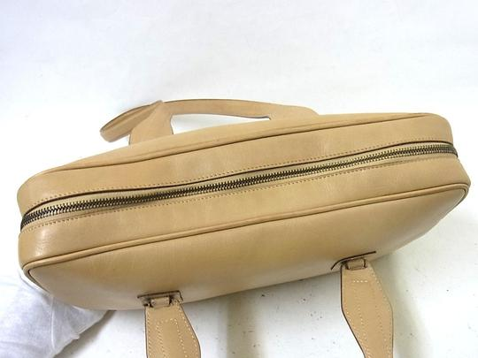 Gucci Doctor's Rare Style High-end Bohemian Large And Roomy Great Everyday Style Satchel in camel brown