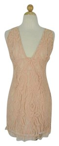 Nasty Gal Lace Deep Plunge Dress