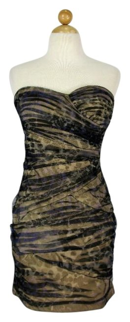 Preload https://img-static.tradesy.com/item/22704751/love-tease-mesh-ruched-camouflage-short-cocktail-dress-size-8-m-0-1-650-650.jpg