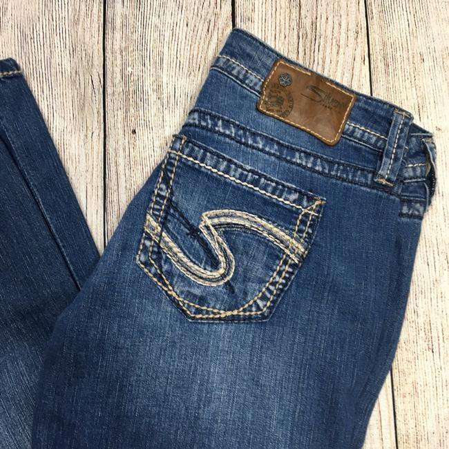 Silver Jeans Co. Straight Leg Jeans-Distressed