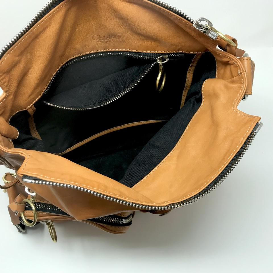 Chloé Leather Tan Leather Bag Shoulder Shoulder Bag Chloé Tan Chloé Tan dqanq68