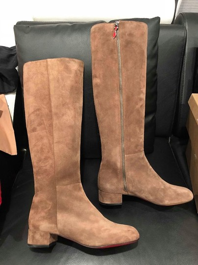 Christian Louboutin Liliboot Lili Knee High brown Boots