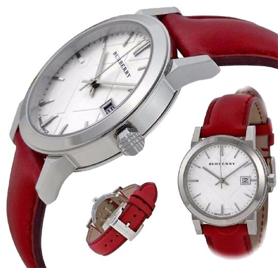 Preload https://img-static.tradesy.com/item/22705053/burberry-red-and-women-s-bu9129-watch-0-1-540-540.jpg