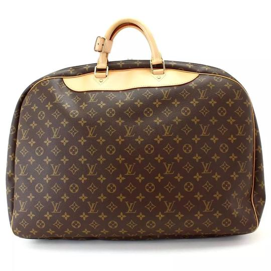 055fe33dbe20 Louis Vuitton Poche Alize 1 Soft Suitcase Luggage Carry On Monogram ...