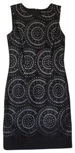 White House | Black Market Stretchy Cut-out Sleeveless Comfortable Fitted Dress