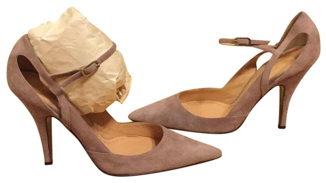 Jean-Michel Cazabat Taupe/Soft Lilac Pumps Size EU 39 (Approx. US 9) Regular (M, B) Image 1