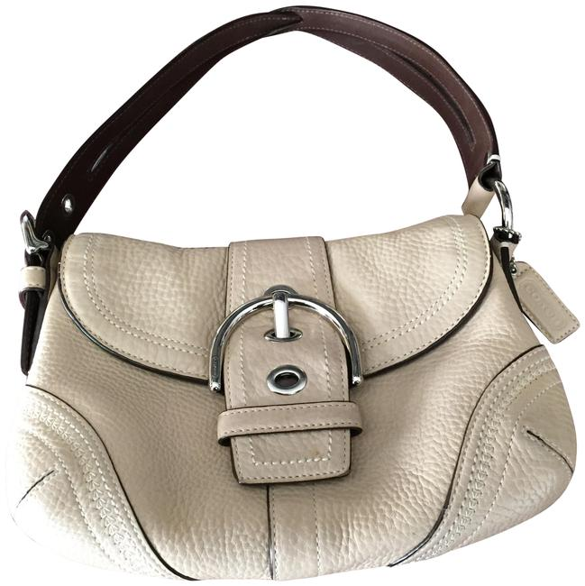 Coach Soho Light Beige Leather Shoulder Bag Image 1