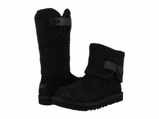 Preload https://img-static.tradesy.com/item/22705257/ugg-australia-black-women-s-shaina-suede-knit-cuff-1012534-bootsbooties-size-us-7-regular-m-b-0-0-540-540.jpg