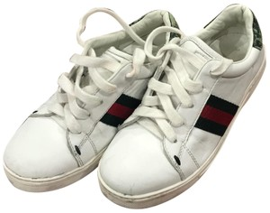 Gucci Children's Ace Sneaker White Athletic