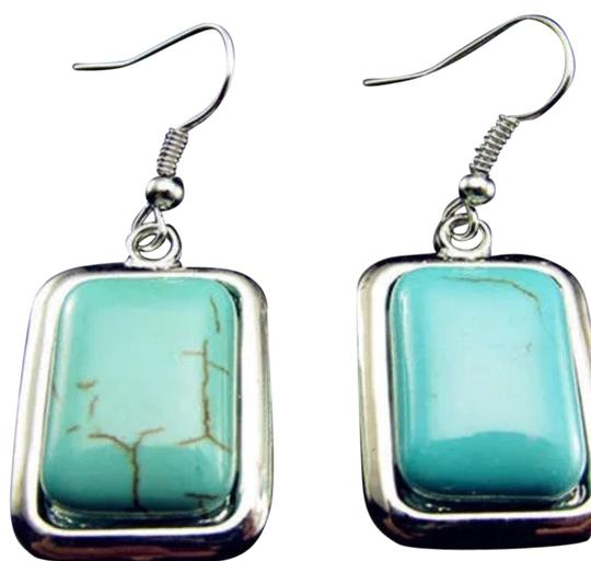 Preload https://img-static.tradesy.com/item/22705431/turquoise-18kgp-wrap-silver-tibetan-hook-earrings-0-1-540-540.jpg