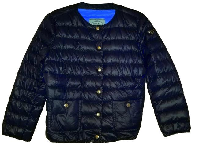 Preload https://img-static.tradesy.com/item/22705476/prada-navy-blue-quilted-lightweight-puffer-eggshell-jacket-with-down-feathers-activewear-size-10-m-0-1-650-650.jpg