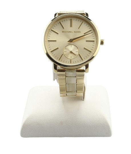 Preload https://img-static.tradesy.com/item/22705815/michael-kors-mk-3510-gold-tone-quartz-watch-142015-0-0-540-540.jpg