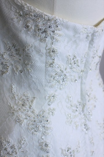 Saison Blanche Ivory Silk Lace 4190 Formal Dress Size 10 (M)