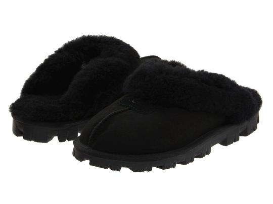 Preload https://img-static.tradesy.com/item/22706036/ugg-australia-black-women-s-coquette-sheepskin-slippers-5125-bootsbooties-size-us-7-regular-m-b-0-0-540-540.jpg