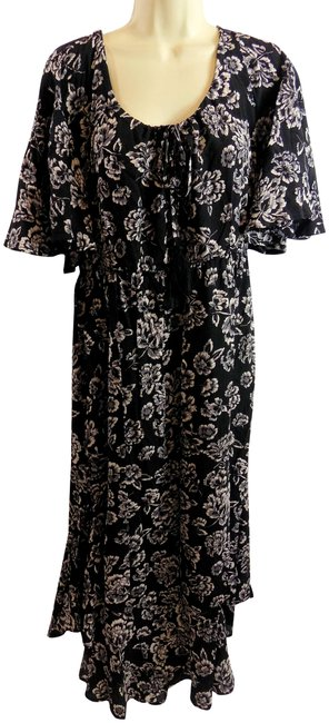 Black Maxi Dress by Umgee Bohemian Floral