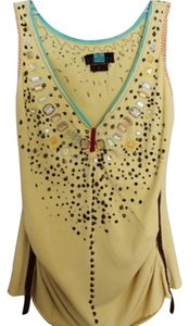 A Common Thread Embellished Top yellow