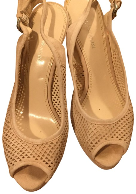 Enzo Angiolini Dusty Rose Beige Slingback Pumps Size US 8.5 Regular (M, B) Enzo Angiolini Dusty Rose Beige Slingback Pumps Size US 8.5 Regular (M, B) Image 1