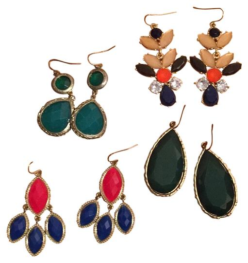 Preload https://img-static.tradesy.com/item/22706432/four-pairs-of-earrings-0-1-540-540.jpg