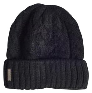 Soia & Kyo Soia & Kyo Cable Knit Beanie in Black