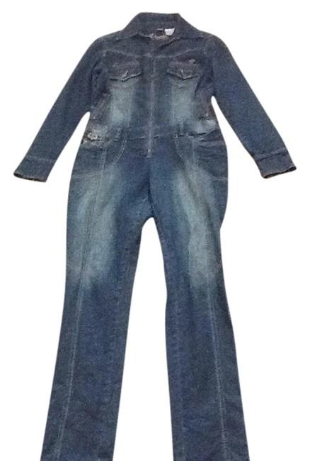 Preload https://img-static.tradesy.com/item/22706556/denim-dereon-jean-sexy-zip-long-romperjumpsuit-size-8-m-0-2-650-650.jpg