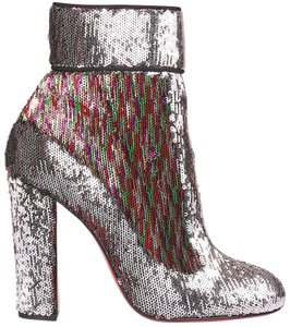 Christian Louboutin Sequin Sequin Moulamax Color Changing Multi Boots