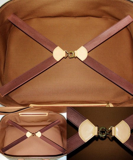 Louis Vuitton Carry All Soft Side Luggage Monogram Travel Bag
