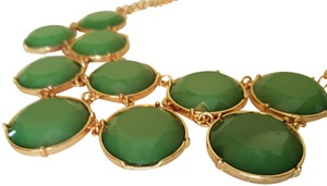 Modcloth Modcloth Green and Gold Necklace