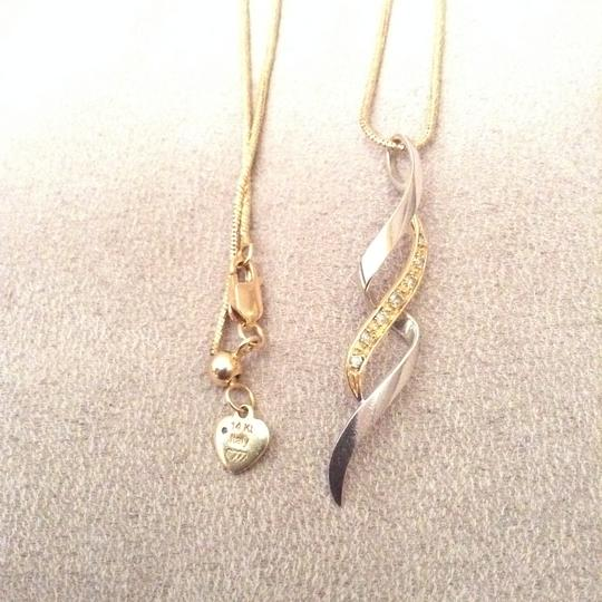 Kay Jewelers 14k two tones solid gold Image 10