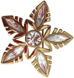 Napier Star Napier Pin/Brooch Crystal and Gold