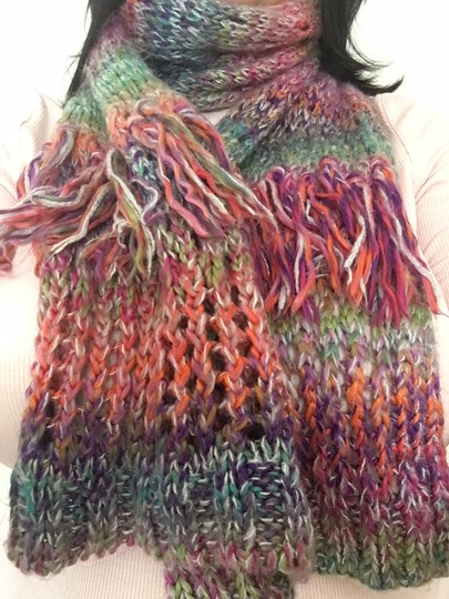 FRAAS FraasMulti Color Cold Weather Scarf Image 4