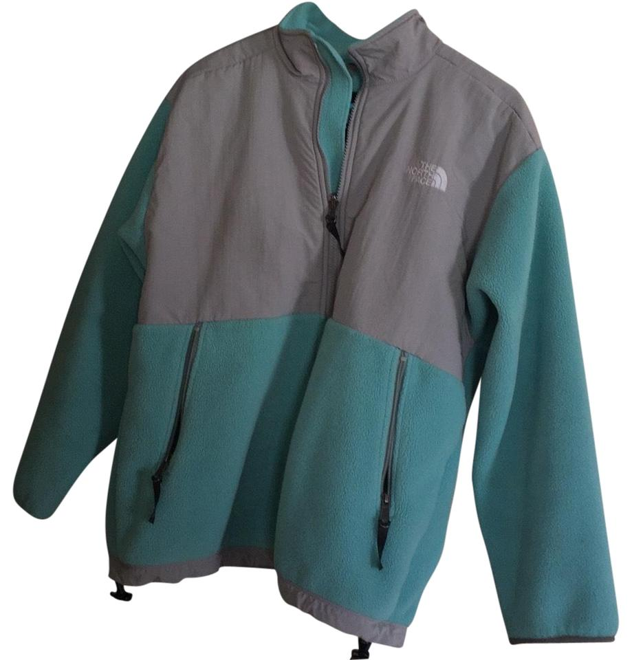 220f9cccdcc7b The North Face Teal Jacket Size 12 (L) - Tradesy