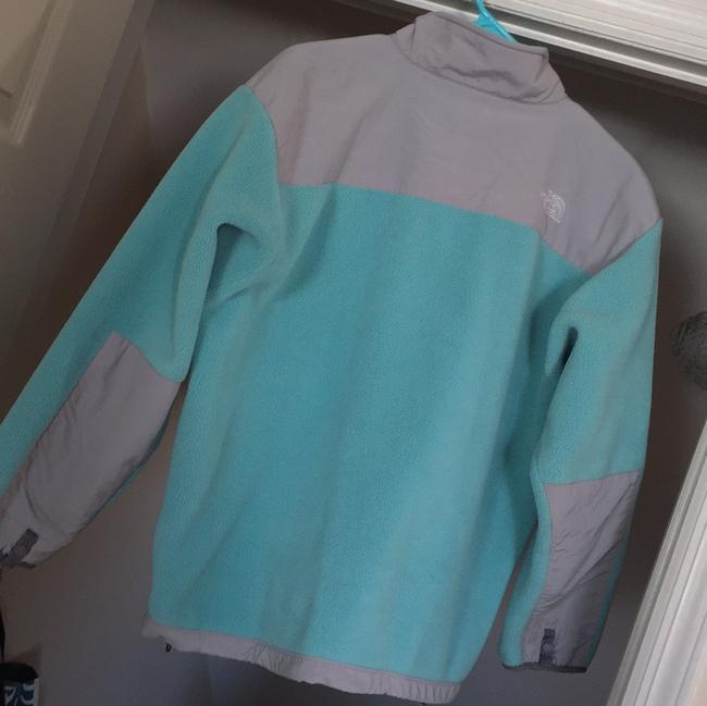 The North Face Teal Jacket Image 1