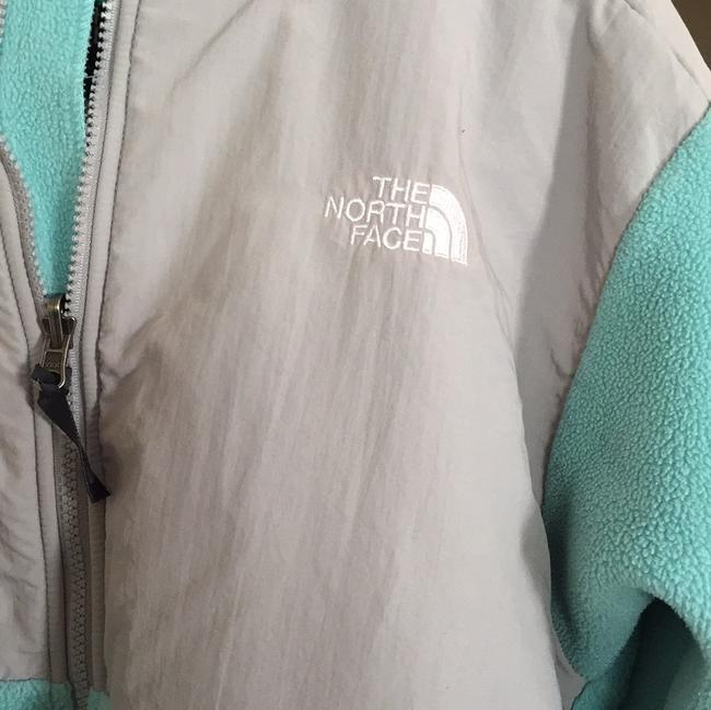 The North Face Teal Jacket Image 4