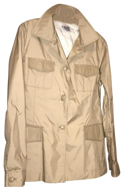 Item - Tan Jacket Size 8 (M)