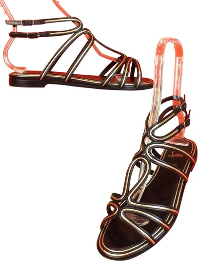 Preload https://img-static.tradesy.com/item/22707781/christian-louboutin-multicolor-zenosandy-black-leather-caged-buckles-flats-gladiator-sandals-size-eu-0-1-540-540.jpg