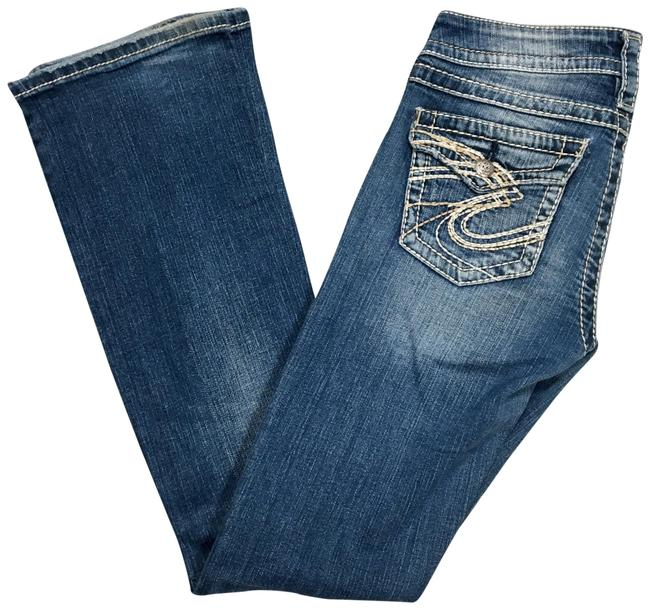 Preload https://img-static.tradesy.com/item/22707983/silver-jeans-co-blue-distressed-pioneer-boot-cut-jeans-size-26-2-xs-0-1-650-650.jpg