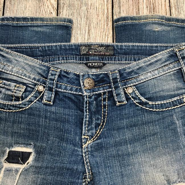 Silver Jeans Co. Boot Cut Jeans-Distressed Image 3