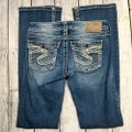 Silver Jeans Co. Boot Cut Jeans-Distressed Image 5