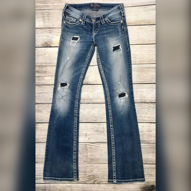 Silver Jeans Co. Boot Cut Jeans-Distressed Image 7