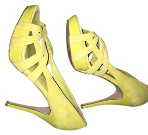 Steve Madden Yellow Neon Sandals