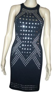 Express Studded Racerback Stretchy Form-fitting Sexy Dress
