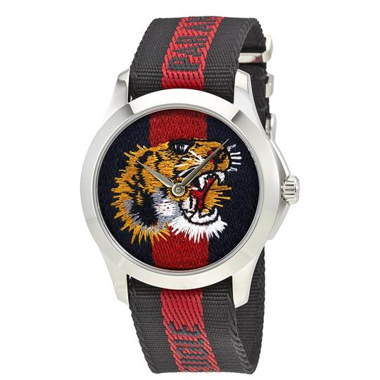 Preload https://img-static.tradesy.com/item/22708246/gucci-blue-red-le-des-marveilles-unisex-watch-0-0-540-540.jpg