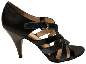 Coach Strappy Black Sandals